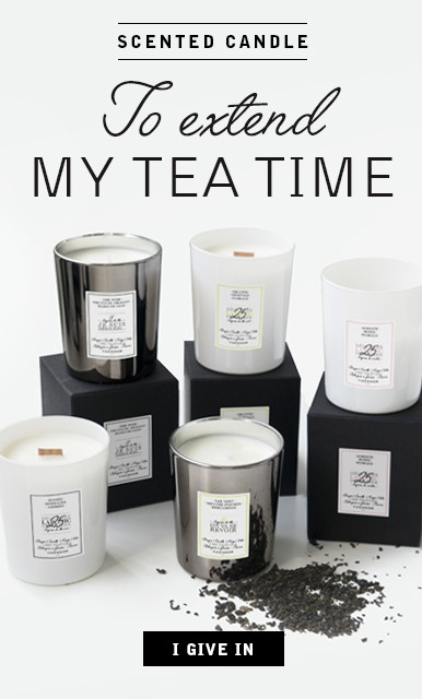 Scented candles and Theodor teas
