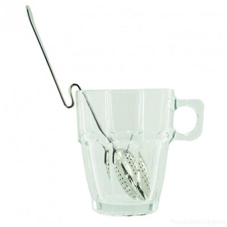 Cuillère Infuseur à pince ovale - Accroche Mug